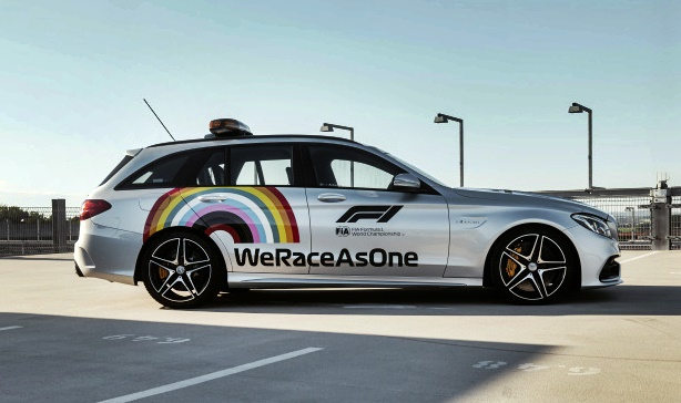 Mercedes-AMG C 63 S Estate Official FIA F1 Medical Car