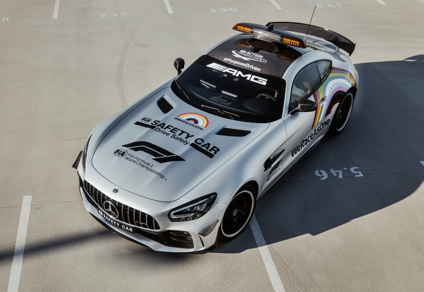 Mercedes-AMG GT R Official FIA F1 Safety Car