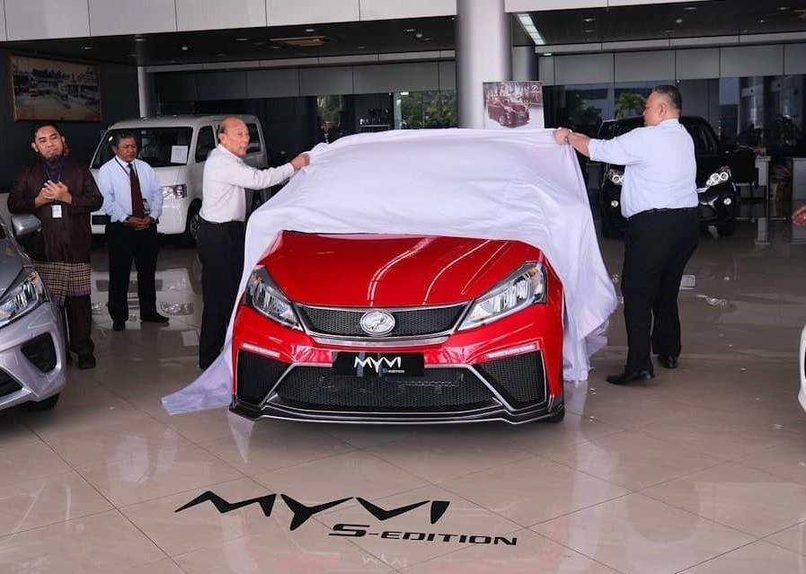 Peodua Myvi S-Edition Brunei