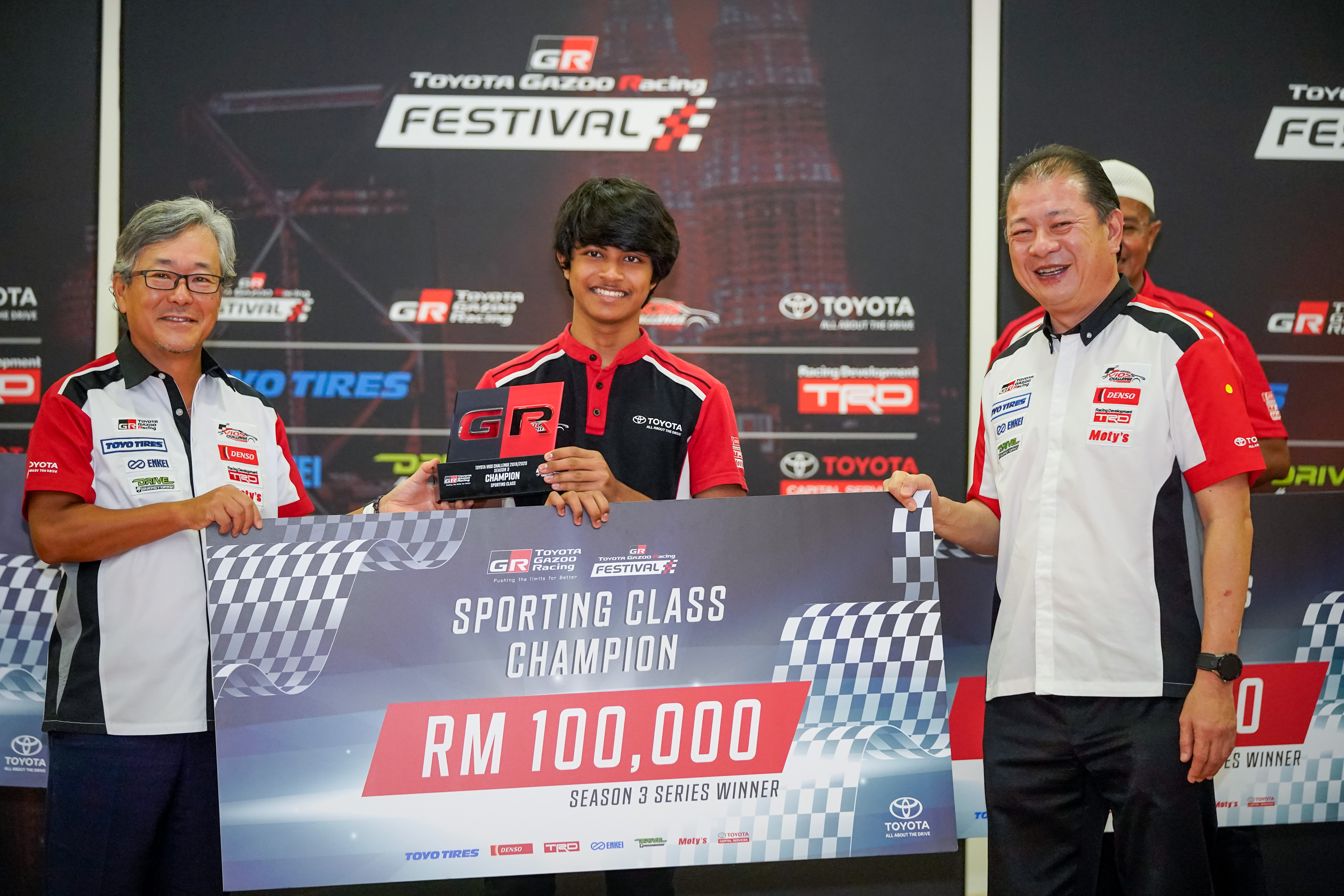 TGR Toyota Vios Challenge Season 3