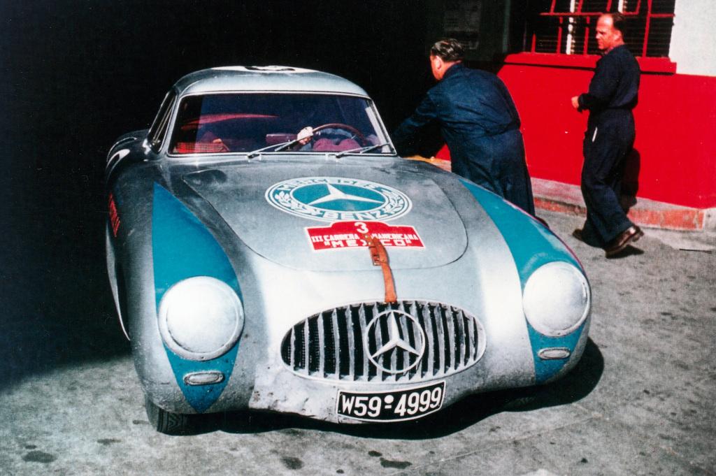 1952 Mercedes-Benz 300 SL racing car, W 194 series