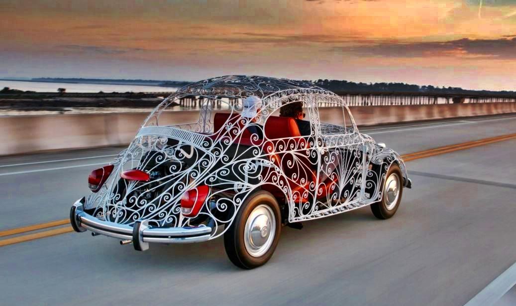 1968 Volkwagen Wedding Beetle