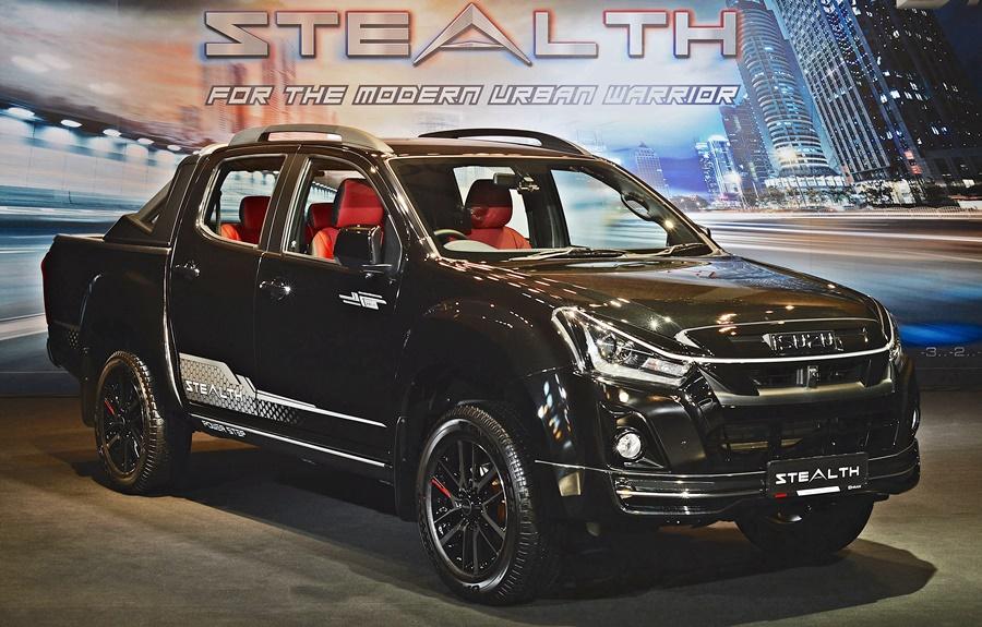 2020 Isuzu D-MAX Stealth Edition
