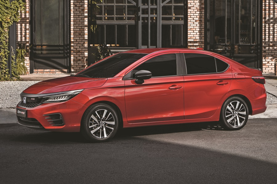 5th generation Honda City 2020