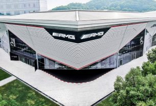 AMG Experience Centre in Shanghai 2020
