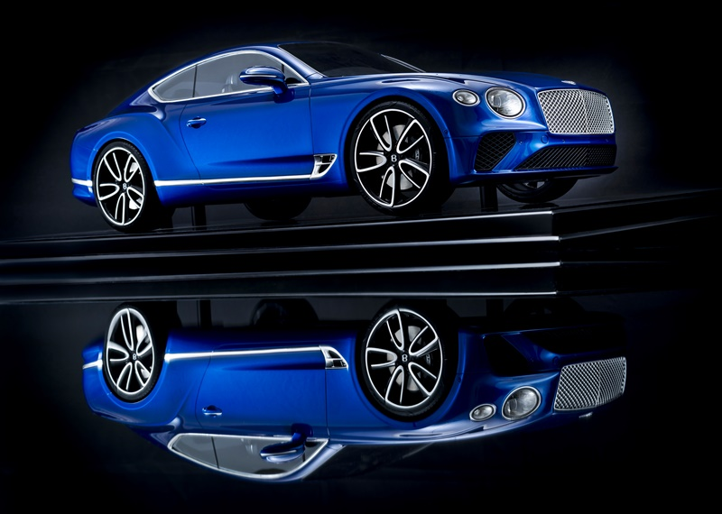 Bentley Continental GT scale model collection
