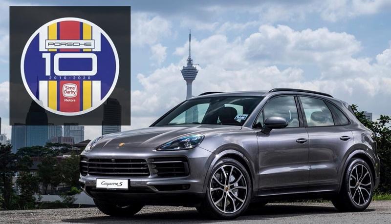 SDAP-Porsche 10th anniversary