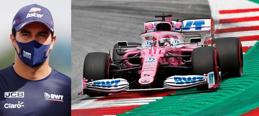 Sergio Perez BWT Racing Point