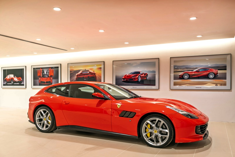 Naza Italia Ferrari Showroom