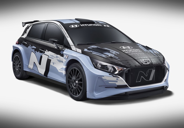 2021 Hyundai i20 Rally2