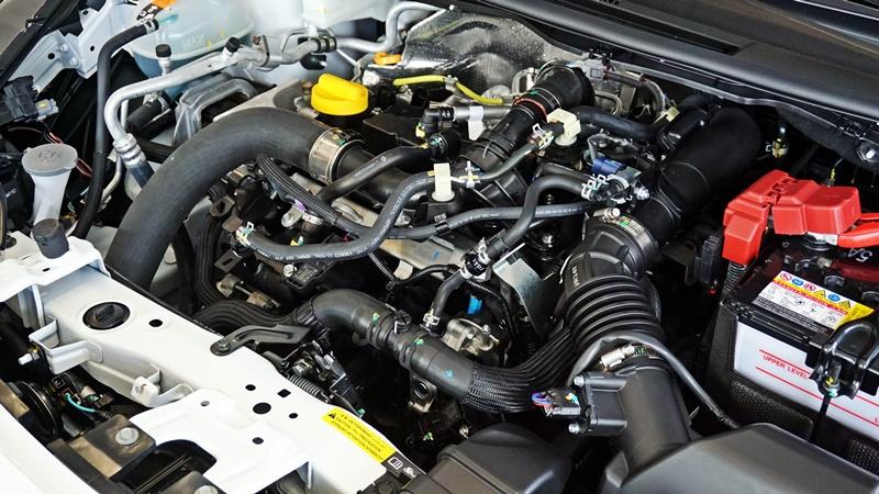 Nissan HR10DET engine in Nissan Almera Turbo