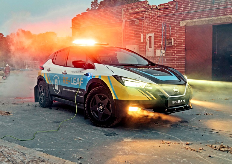 Nissan RE-LEAF concept