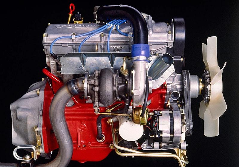 Volvo 240 Turbo engine