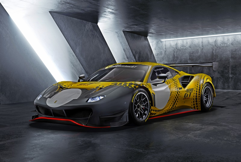 2021 Ferrari 488 GT Modificata