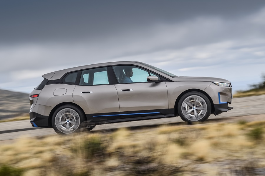 bmw ix - the new technology flagship of the bmw group