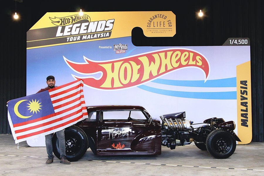 Hot Wheels Legend Tour