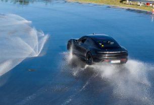 Porsche Taycan Guinness World Record