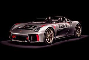 Porsche Vision Spyder (2019)