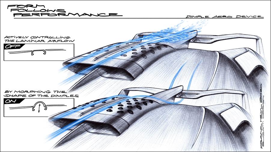 Bugatti Bolide Dimple concept