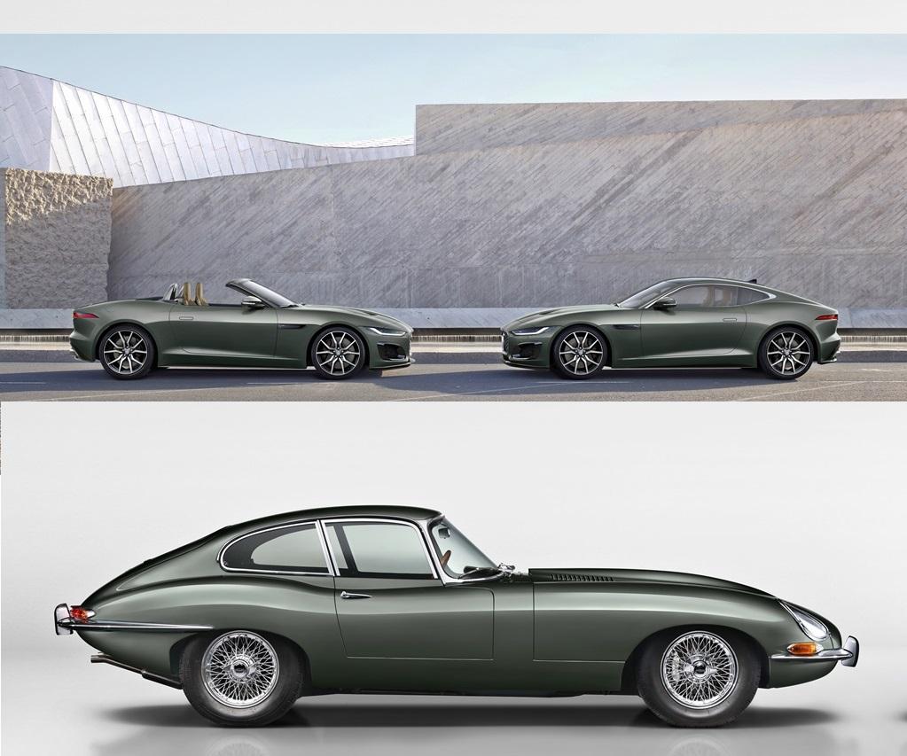 2021 Jaguar F-TYPE Heritage 60 Edition & E-type