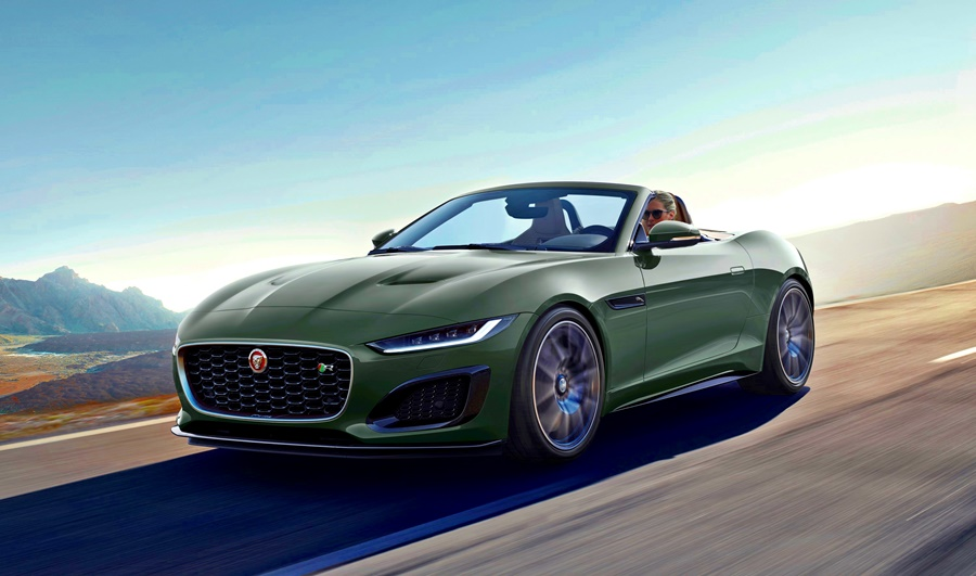 2021 Jaguar F-TYPE Heritage 60 Editio