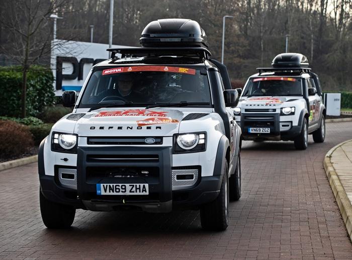 Land Rover Defender 110 for Dakar 2021