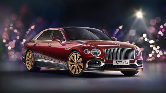 Santa's Bentley Flying Spur