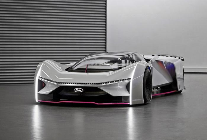 Team Fordzilla's P1 Virtual Racing Car 2020