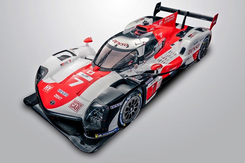 2021 Toyota GAZOO Racing GR010 HYBRID Le Mans Hypercar