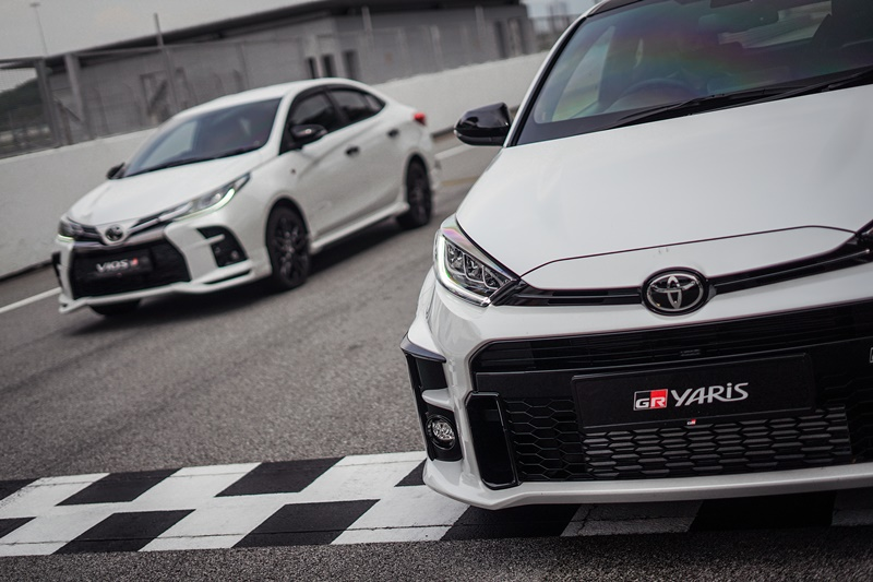 Toyota GR Yaris and Toyota Vios GR-S