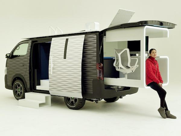 Nissan NV350 Office Pod Concept 2021
