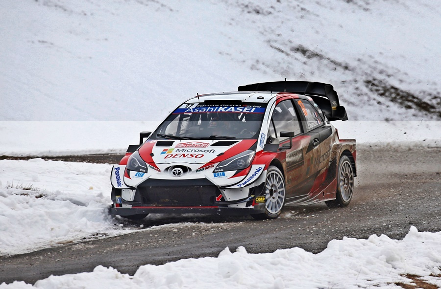 WRC 2021 Toyota GAZOO Racing Yaris