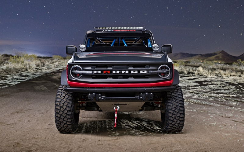 2021 Ford Bronco 4600 Race Vehicle