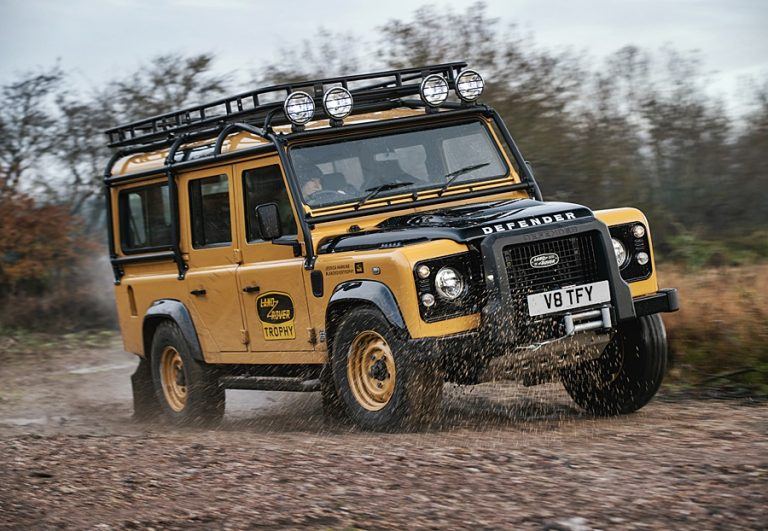 2021 Land Rover Classic Defender Works V8 Trophy (w/VIDEO ...