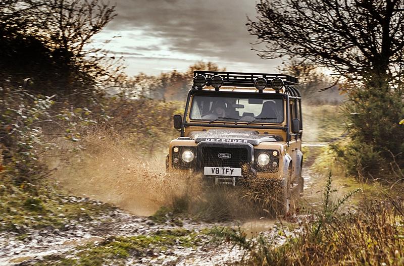 2021 Land Rover Classic Defender Works V8 Trophy
