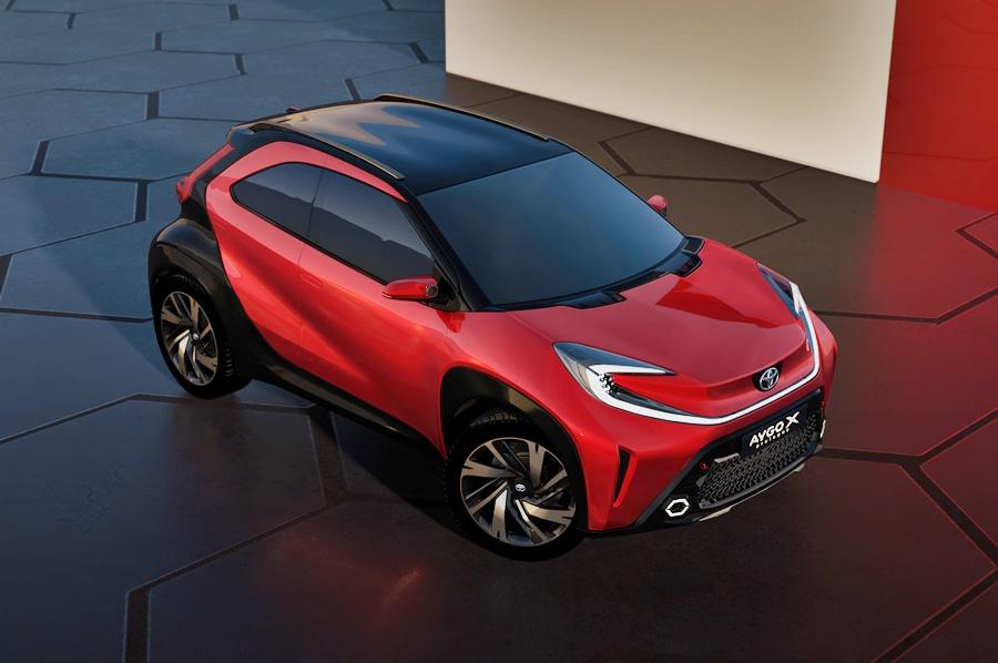 2021 Toyota Aygo X prologue