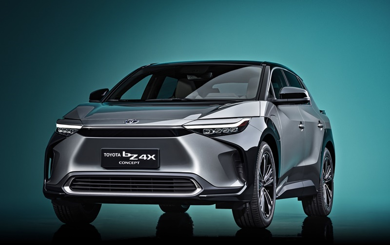 2021 Toyota bZ4X concept
