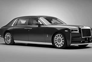 Rolls-Royce Phantom Oribe in collaboration with Hermès
