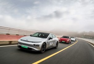 XPeng autonomous drive record in China 2021