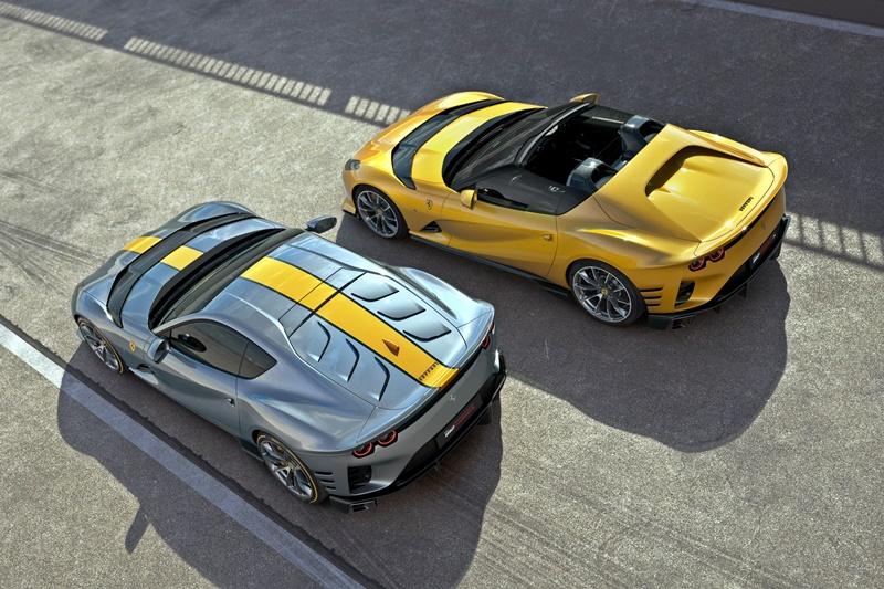 2021 Ferrari 812 Competizione and Competizione A