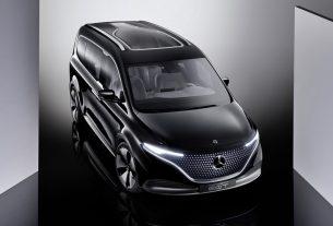 2021 Mercedes-Benz Concept EQT – Vorbote einer neuen Hochwertigkeit im Small-Van-SegmentPremiere of the Concept EQT