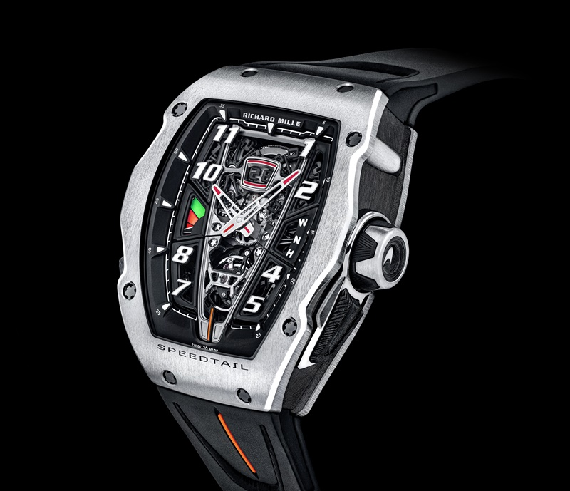 RM 40-01 Automatic Tourbillon McLaren Speedtail