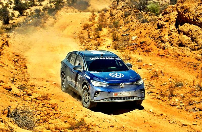 Volkswagen ID.4 NORRA desert race 2021