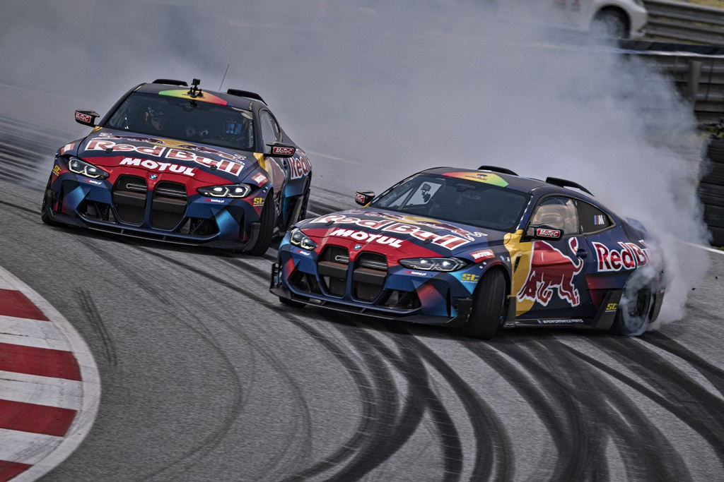 2021 BMW M4 Competition - Red Bull Driftbrothers DMEC