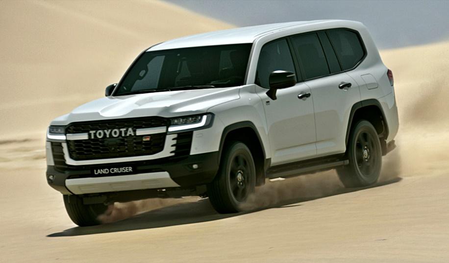 2021 Toyota Land Cruiser 300 series