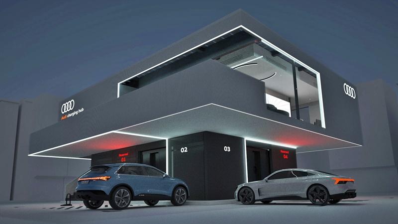 Audi Charging Hub EV