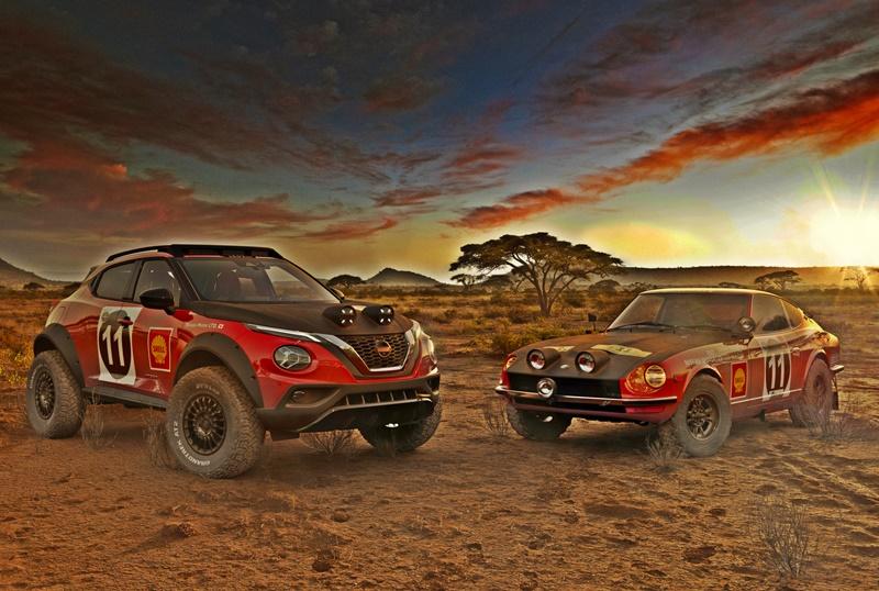 Nissan Juke Rally Tribute Concept 2021