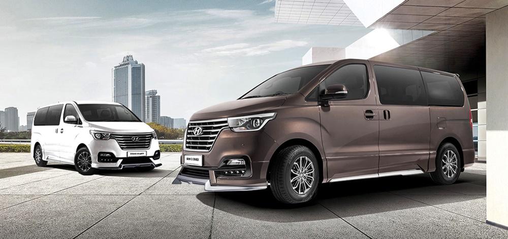 Hyundai Grand Starex with Telematics