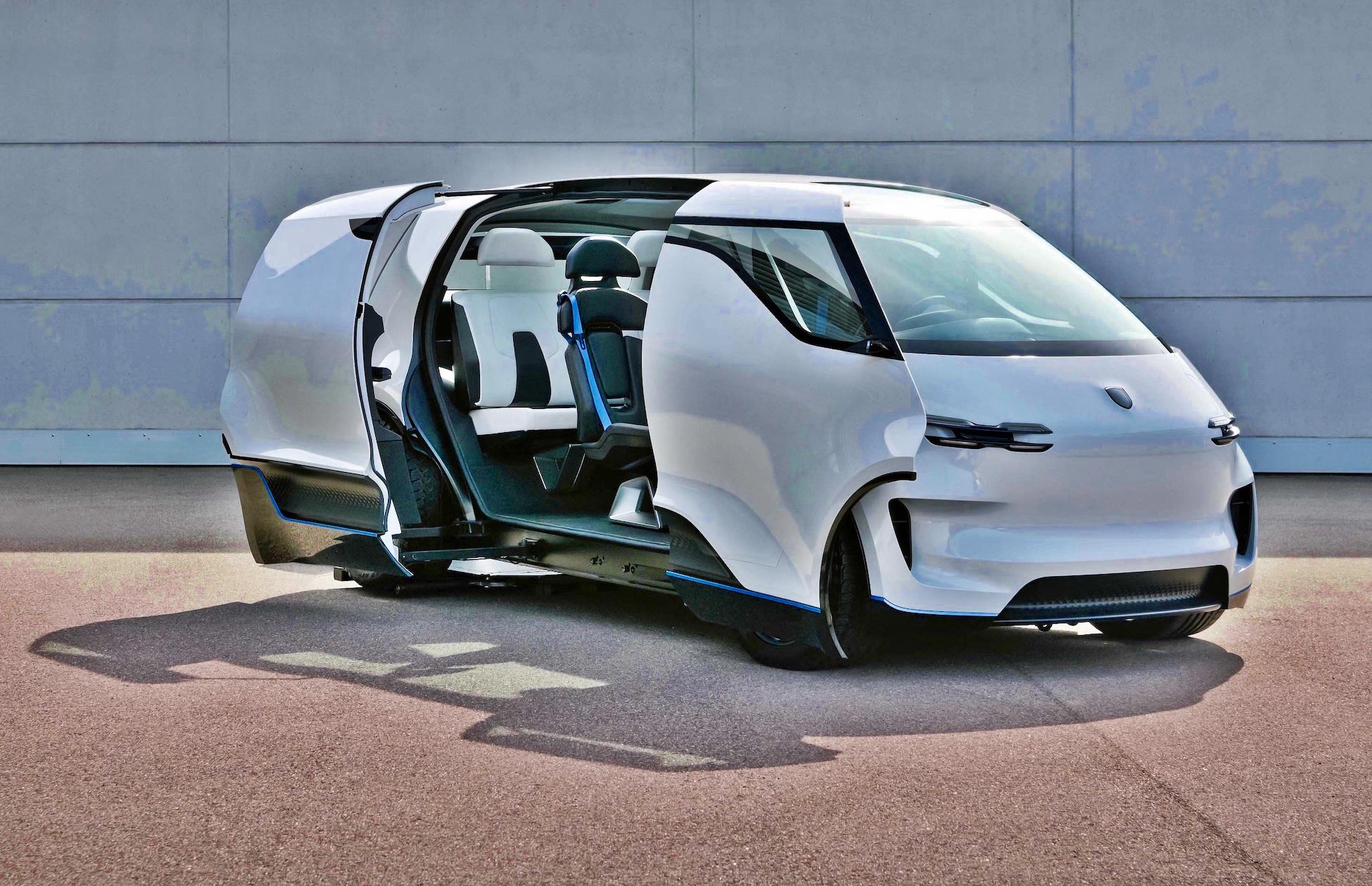 Porsche interior design