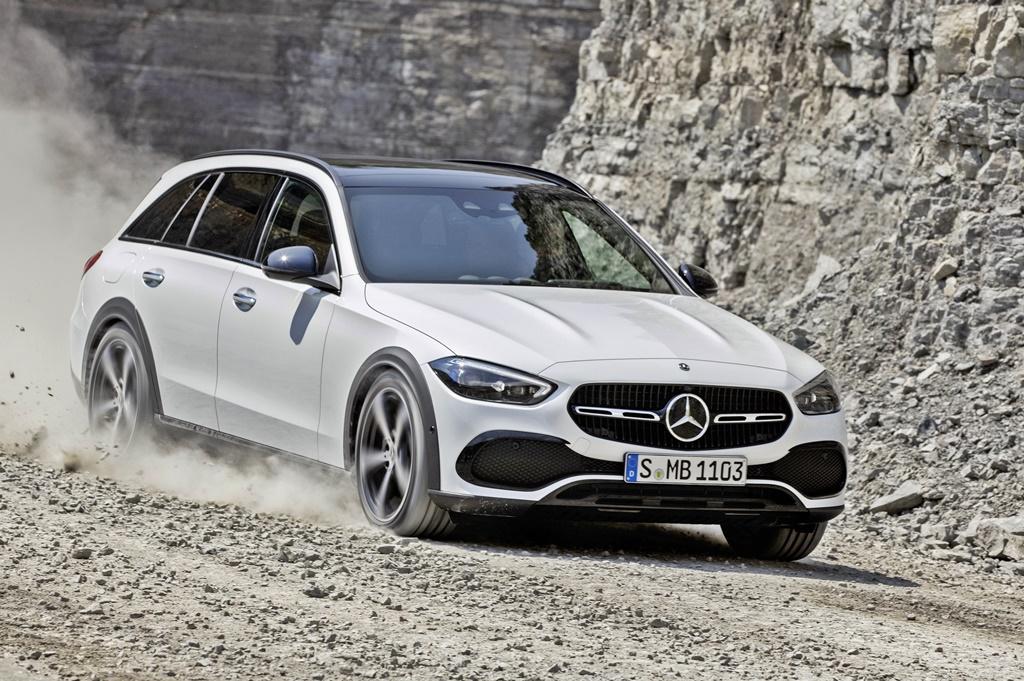 2021 Mercedes-Benz C-Class All Terrain (BR S206); 2021Mercedes-Benz C-Class All Terrain 4MATIC